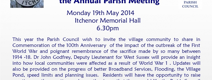 Parish Meeting 2014